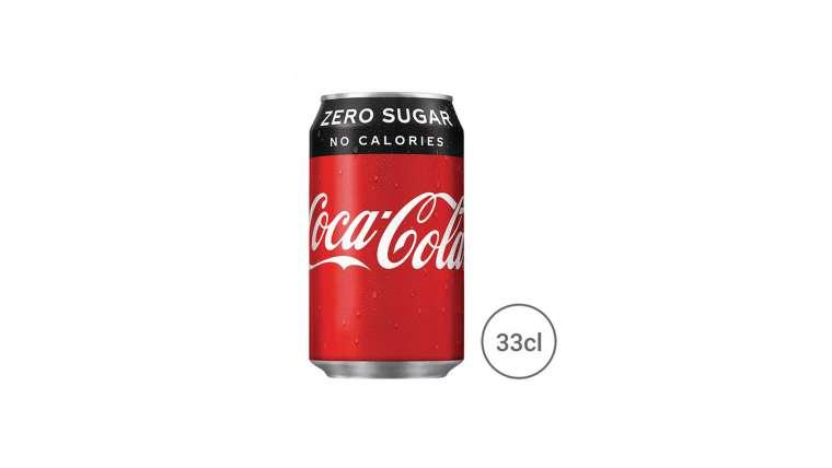 Cola zero 33cl
