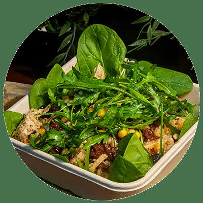 Quinoa, vegan