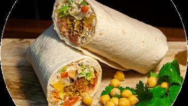 falafel met hummus