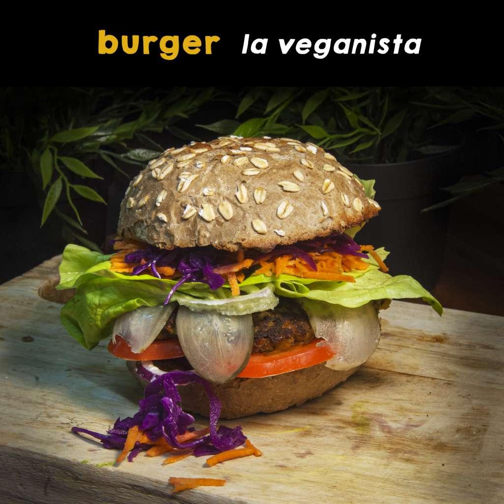 vegan burger delivery