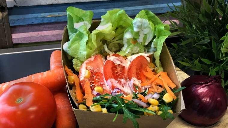 Side Salad, vegan